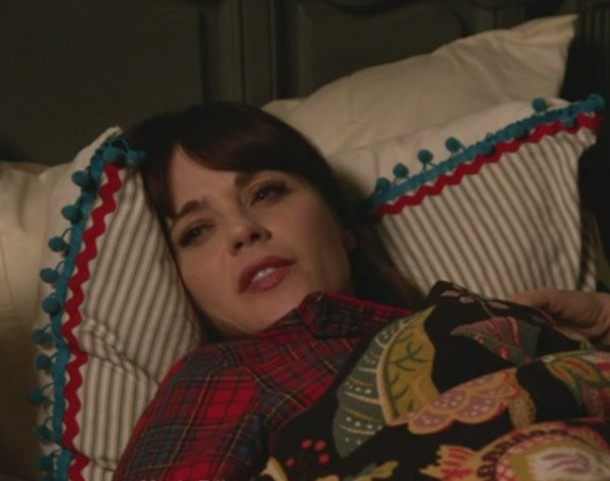 pajamas jess day new girl zooey deschanel