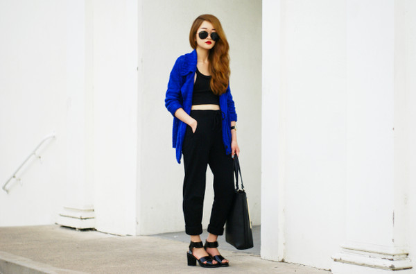 rouge fox jacket t-shirt bag shoes