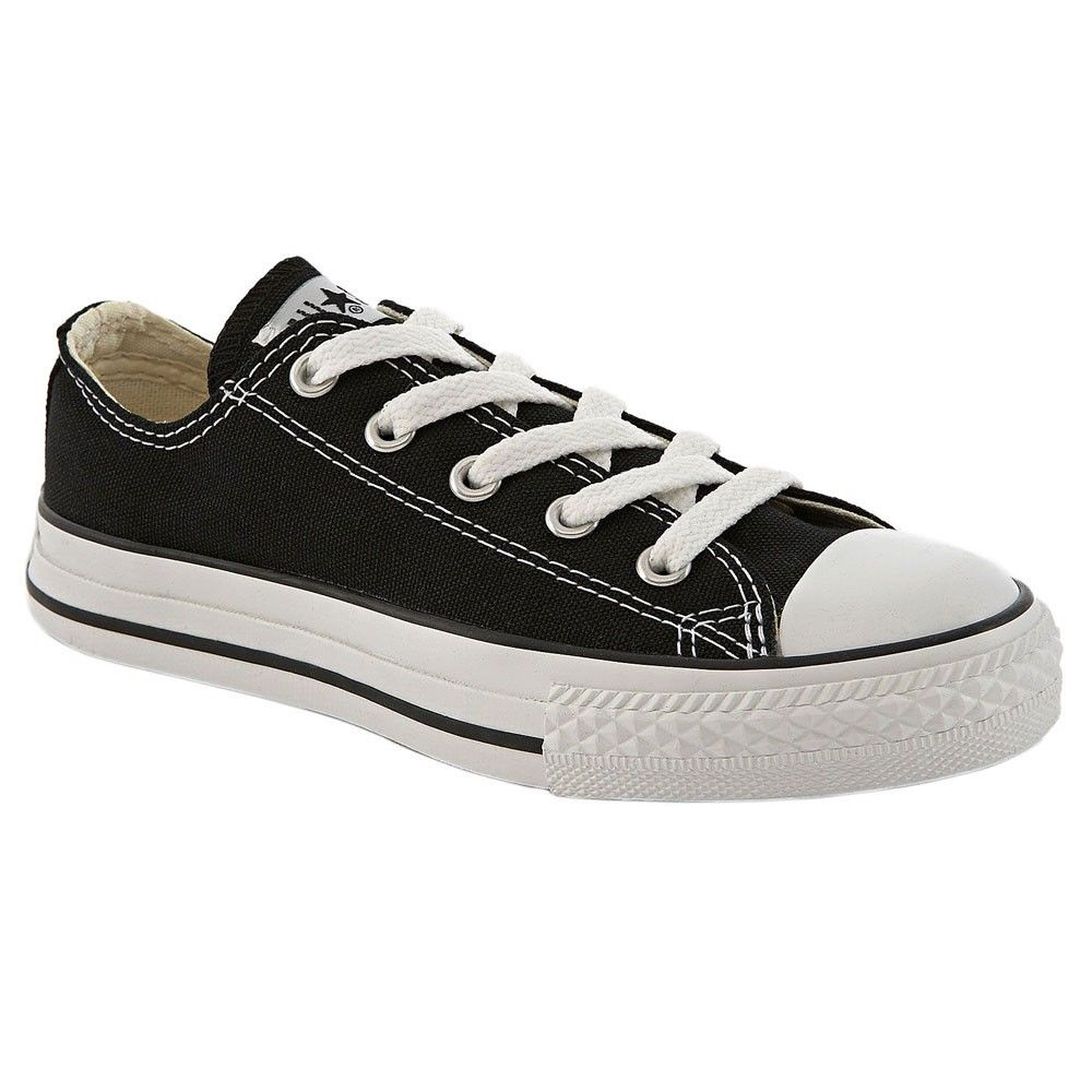 Converse Chuck Taylor Black White Low Top Canvas for Kids New in Box All Sizes | eBay
