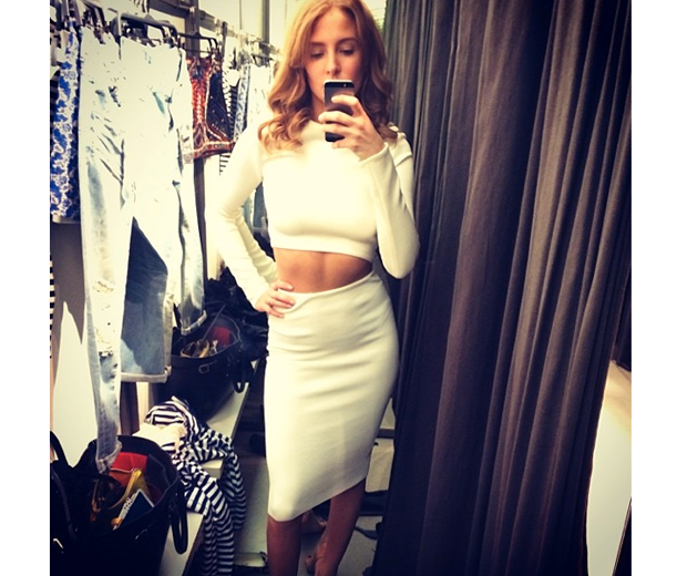 Millie Mackintosh Is Top Of The Crops In All-White Everything | Look