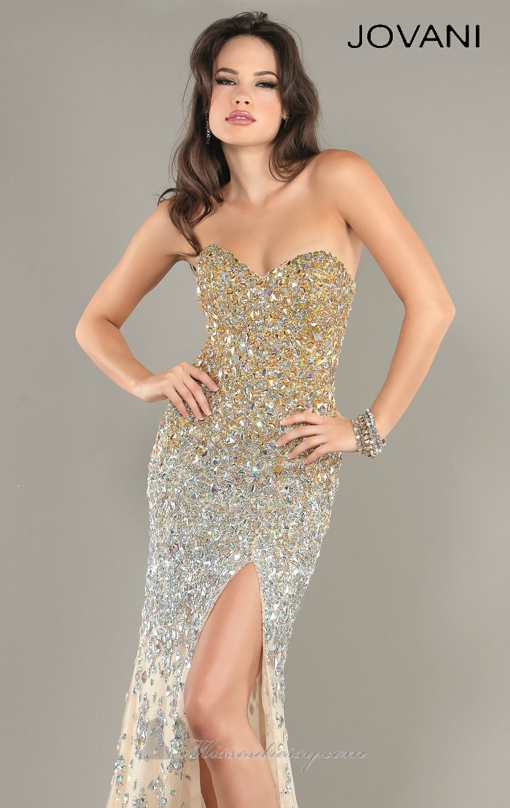 2014 Cheap Shining Mermaid Dress by Jovani Prom 1650 Dress,Start Shopping For Cheap Jovani Wedding Dresses