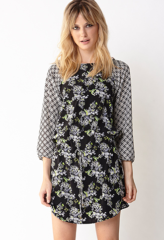 Sweet Sophisticate Shift Dress | FOREVER21 - 2000127513