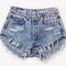 Alexx vintage acid wash studded shorts | runwaydreamz