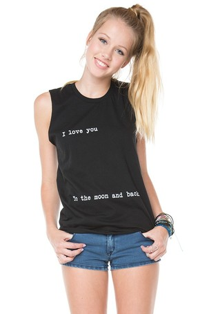 I LOVE YOU TO THE MOON AND BACK SHIRT on The Hunt