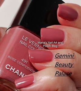 Chanel Le Vernis Nail Polish # 491 Rose Confidentiel | eBay