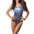 Quality Digital Print Galaxy Blue Cosmo Romper Teddy Monokini Swimsuit MDS005 | eBay