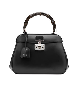 Gucci Bamboo-Handle Lady-Lock Bag - Neiman Marcus