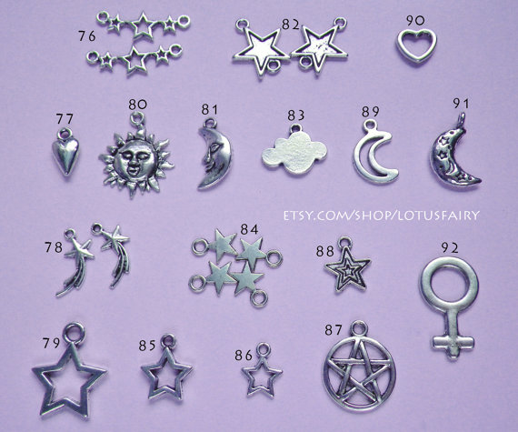 DYO Charms 76145 by lotusfairy on Etsy