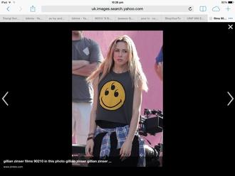 top gillian zinser 90210 tank top celebrity style