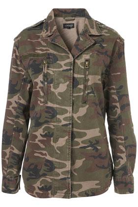 Topshop - Camo Army Jacket customer reviews - product reviews - read top consumer ratings