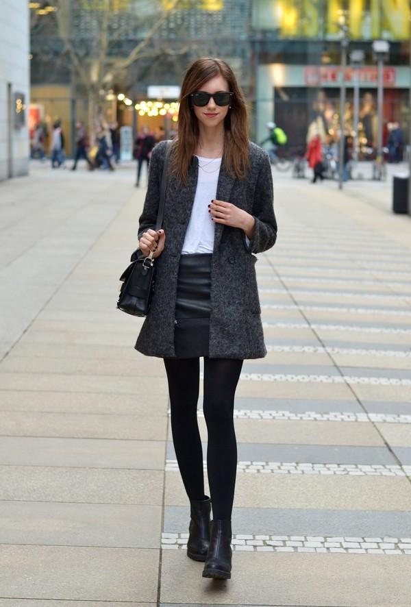 vogue haus t-shirt skirt coat bag sunglasses shoes jewels