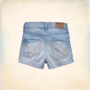 Hollister Natural Waist Short-Shorts on Wanelo