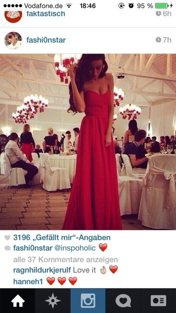 dress red dress formal dress maxi dress red prom dress red formal dress formal dress prom dress gown