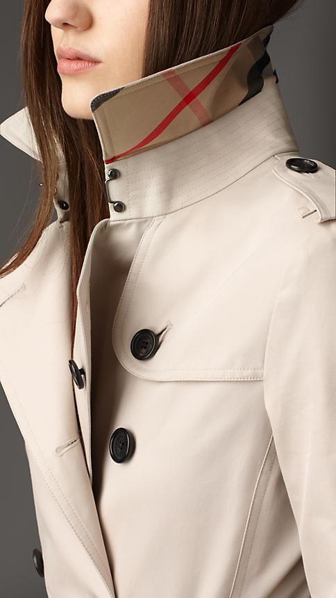 Long Cotton Gabardine Trench Coat | Burberry