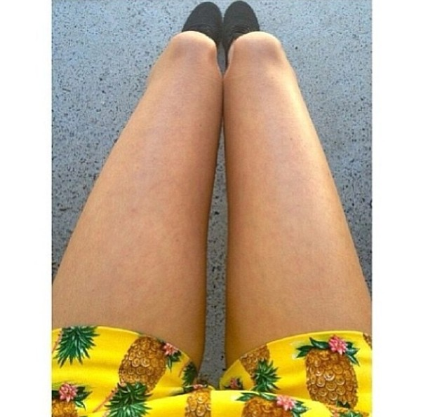 shorts pineapple print boho california beanie beach dress crop tops shoes vans indie