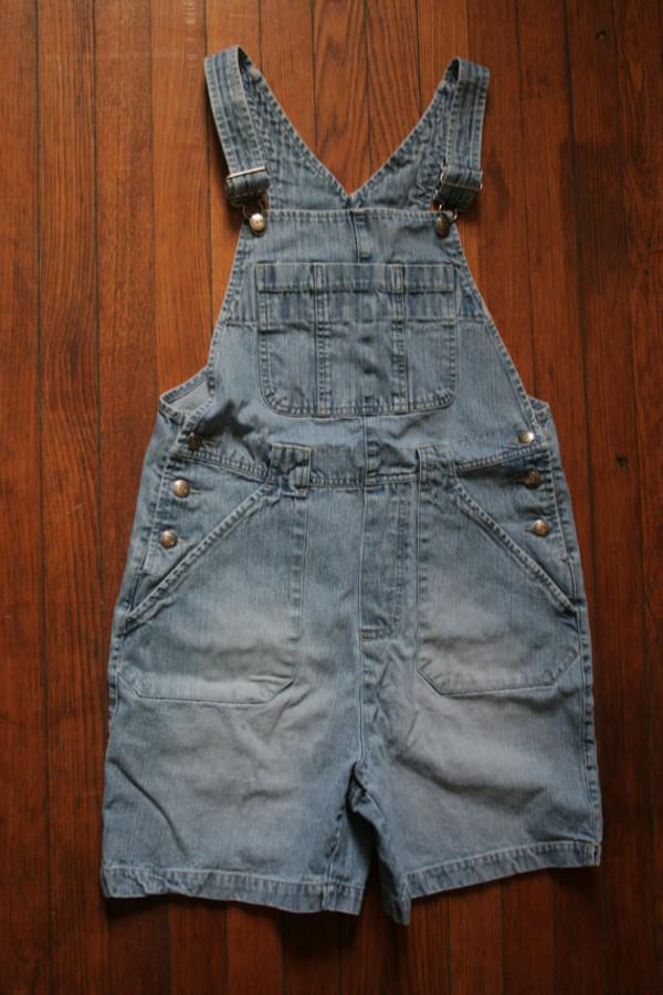 romper denim shortalls overalls small denim overalls grunge 90s grunge