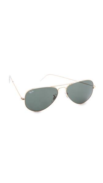 Ray-Ban Original Aviator Sunglasses   SHOPBOP