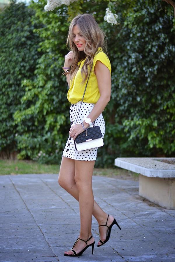 mi aventura con la moda skirt bag shoes jewels make-up