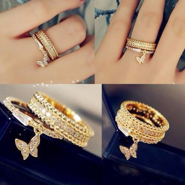jewels rings and tings ring gold ring