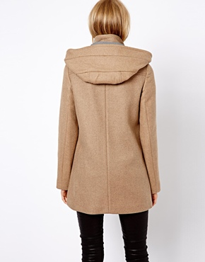 Mango | Mango Hooded Coat at ASOS