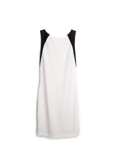 stretch bicolor dress
