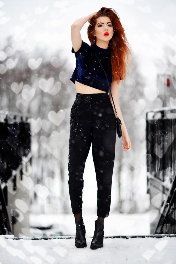 ebba zingmark pants t-shirt bag shoes