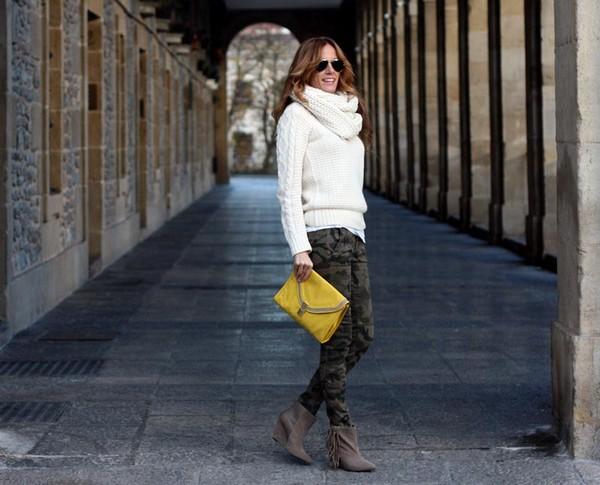 rebel attitude pants bag sweater shoes