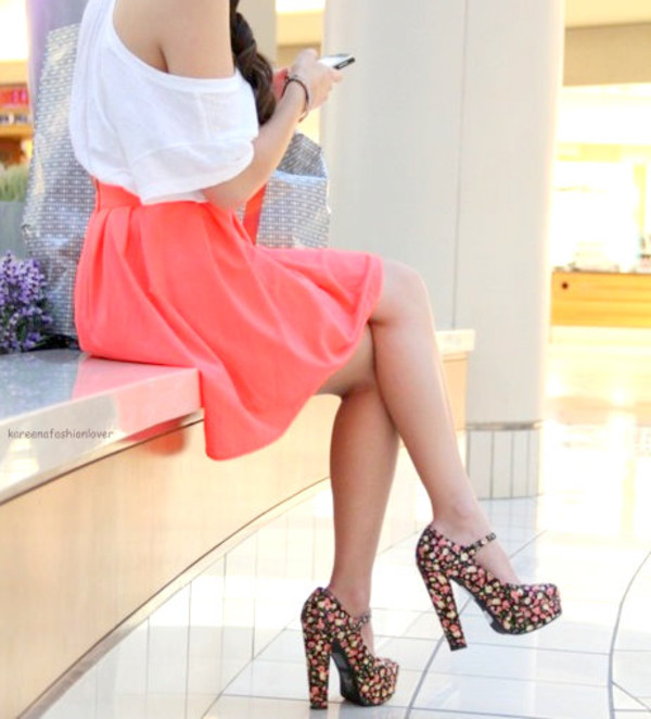 shoes clothes skirt