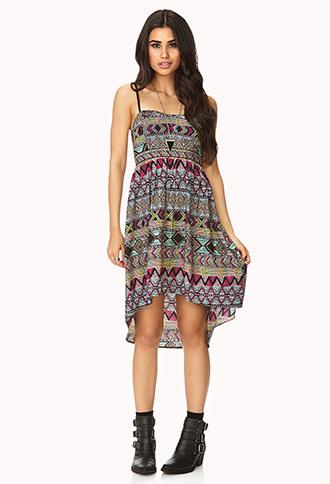 Boho Babe High-Low Dress | FOREVER21 - 2000129295