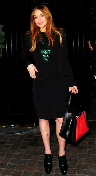 dress top sequins sequin dress lindsay lohan fall outfits