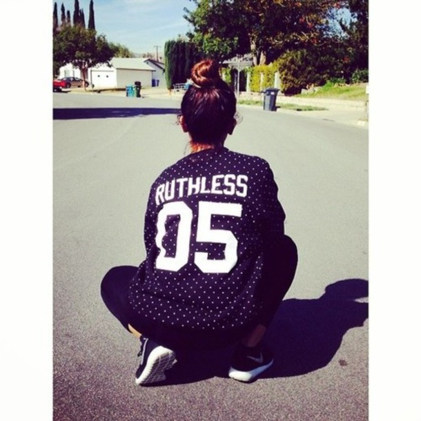 blouse top ruthless