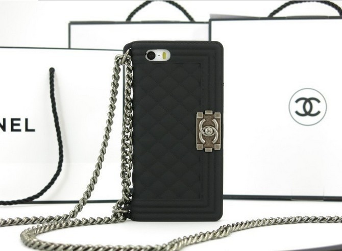 5 Colors Brand New Fashion 2013 Luxury lanyards Soft Chain Cellphone Bag Case Cover Shell for iPhone 5 5S Channel Handbag Case-in Phone Bags & Cases from Phones & Telecommunications on Aliexpress.com