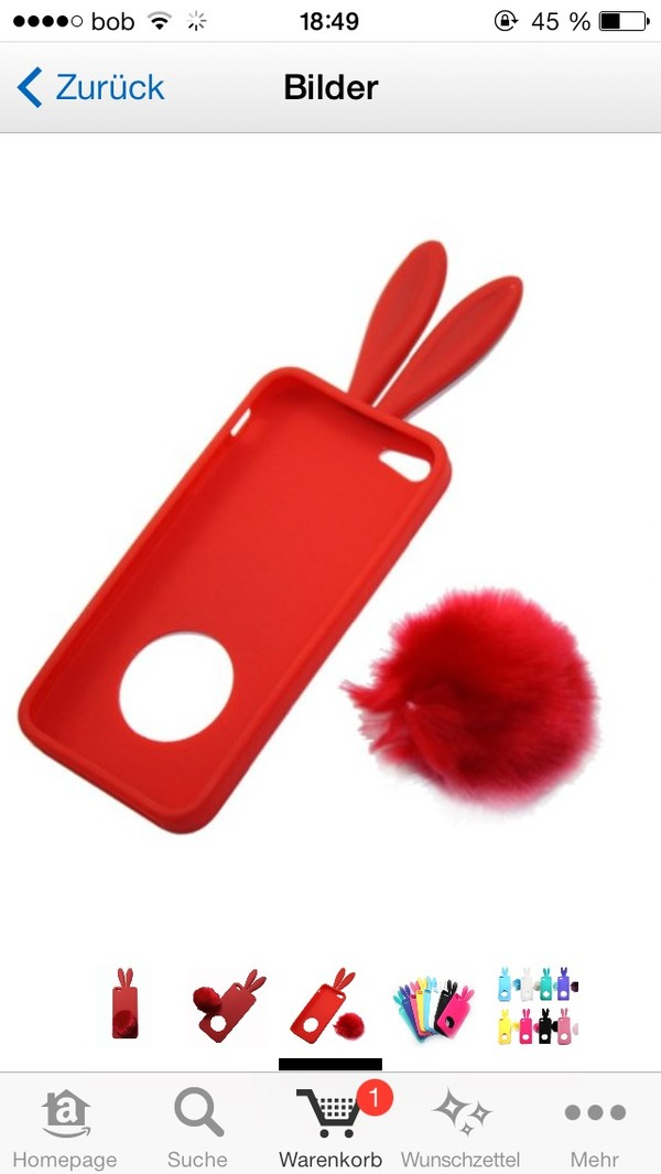 red phone cover iphone iphone case iphone cover iphone 5 case bunny bunny bunny easter