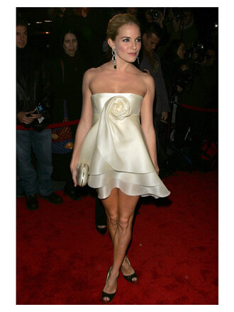 sienna miller white dress dress