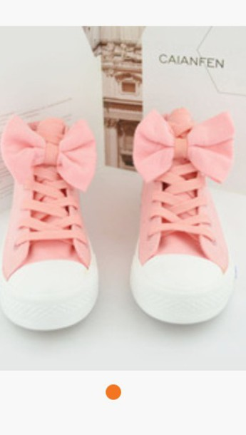 shoes pink converse