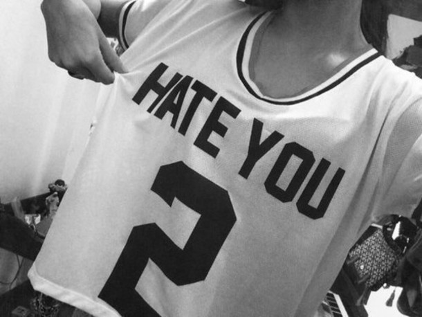 t-shirt hate you funny