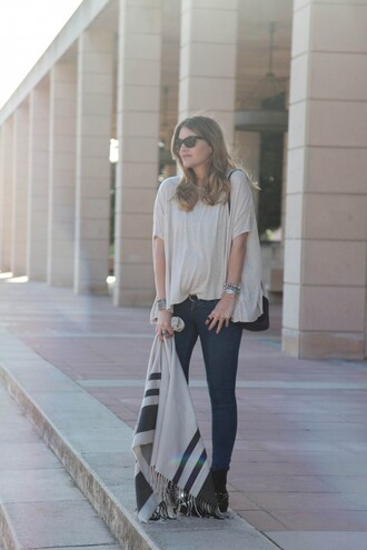 my daily style jeans belt bag shoes