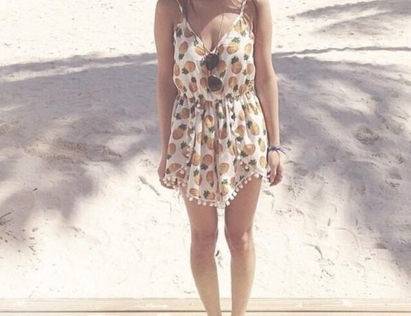 dress dress jumpsuit? pineapple