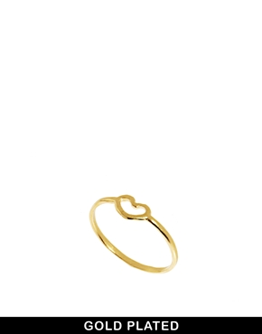Dogeared | Dogeared Heart Ring at ASOS