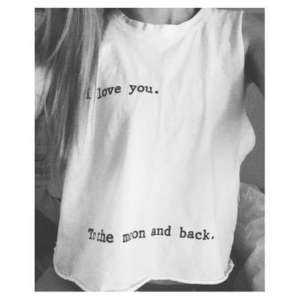 t-shirt t-shirt i love you oversized t-shirt i love you to the moon and back shirt i love you to the moon and back moon muscle tee love you duh shirt