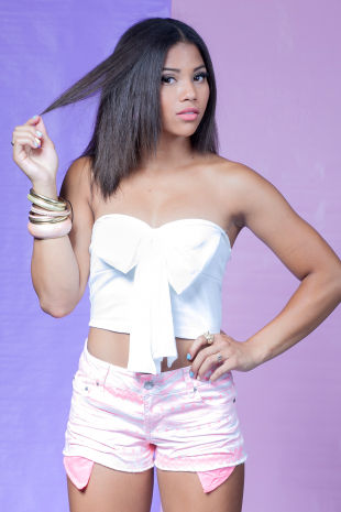 White Bow Bustier Crop Top | Ooh La Luxe!  - Juniors & Contemporary High Street Fashion
