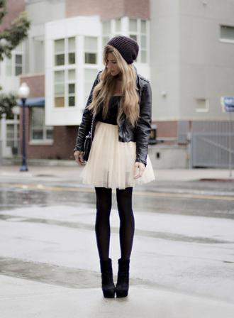 skirt ballerina tulle skirt black high heels shoes dress jacket