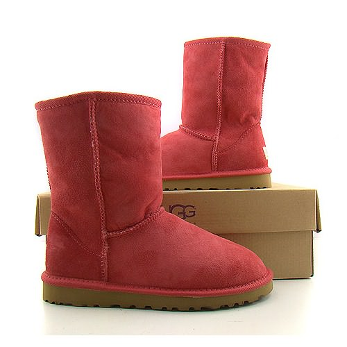 2013 Ugg Red Classic Short boots Official Website : UK, The Art of E-commerce