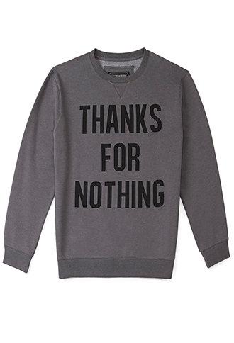 Thanks For Nothing Sweatshirt ($20.00) - Svpply