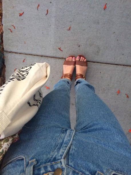 shoes brown sandals sandals cute sandals open toes