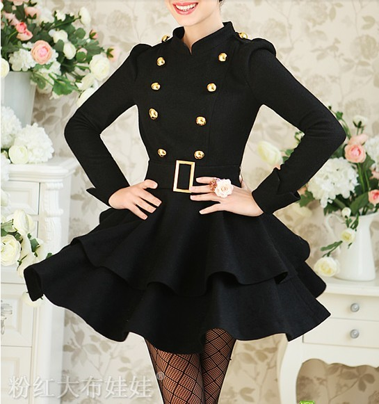 2013 Autumn New Woolen Dress from Kashion on Storenvy
