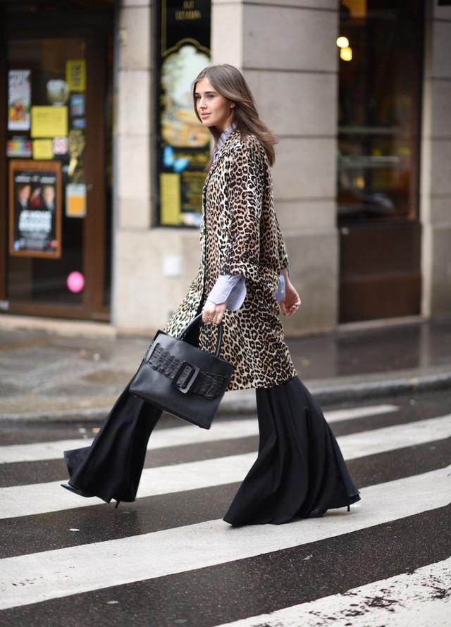 Afbeeldingsresultaat voor leopard print street style