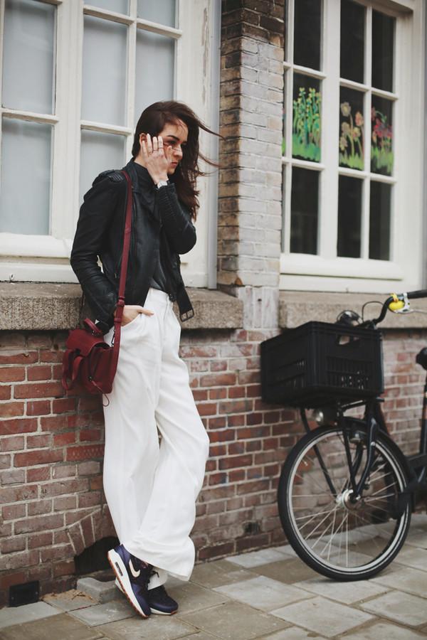 style scrapbook shoes jacket pants bag