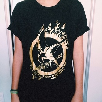 shirt mockingjay the hunger games