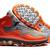 Air Flyposite Men Shoes Cool Grey and Total Orange -  $108.98